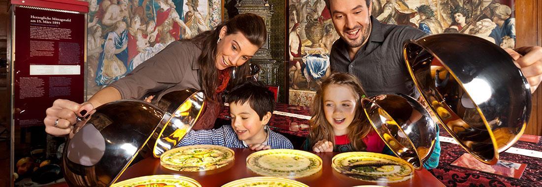 Das herzogliche Speisezimmer - Galadiners und europäische Kulturgeschichte