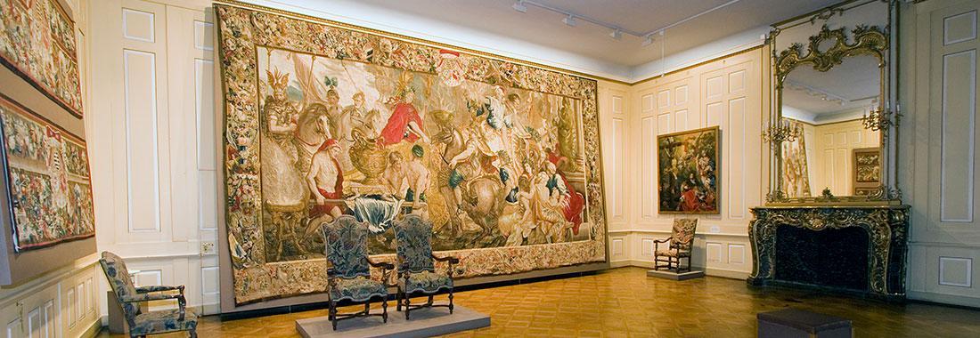 Barocke Tapisserie - Der triumphale Einzug Alexander des Großen in Babylon